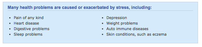 health impact of stress