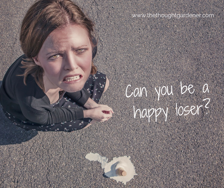 Can you be a happy loser?