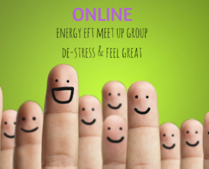Online 'Energise with EFT' group (via Zoom online conferencing)